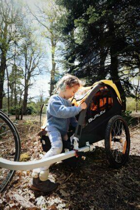 Kids bike trailer hire
