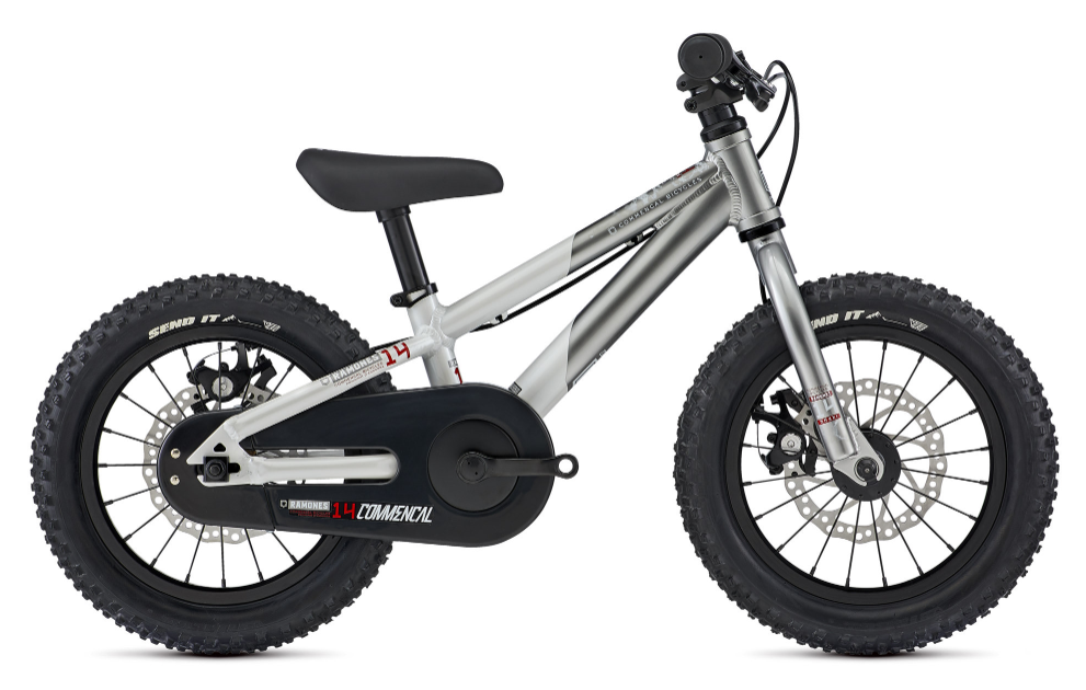 Commencal Ramone 14 inch kids mountain bike for 3 and 4 year old
