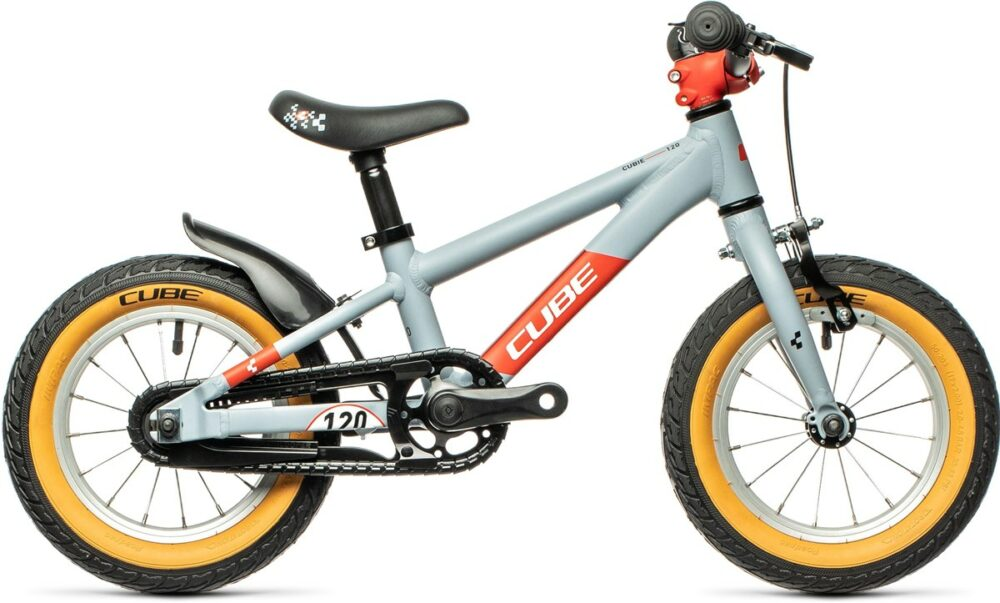 """The Cube Cubie 120 is one of the smallest kids pedal bikes available in 2021 - with 12"""" wheels and a rear coaster brake it's ideal for kids aged 3 years and over"""