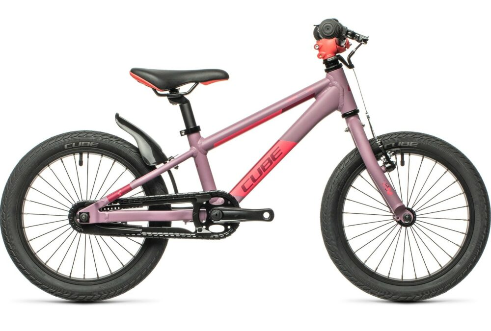Cube Cubie 160 kids bike - a bike for a 4 year old with a rear coaster brake