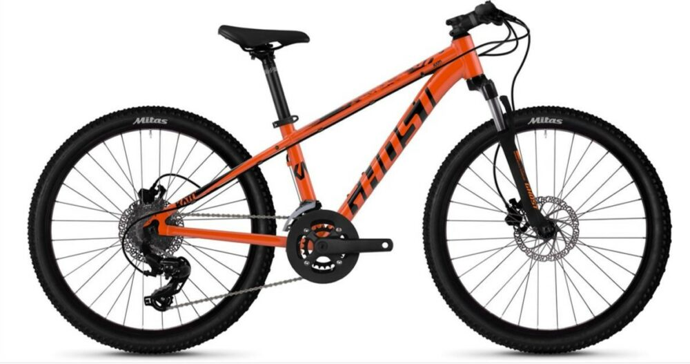 Ghost Kato D4.4 Kids Mountain Bike ages 8 and over