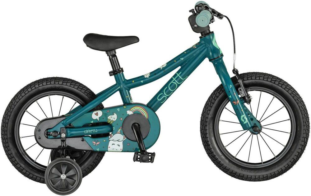 """Scott Contessa 14"""" wheel kids bike for children aged 3 and 4 years"""