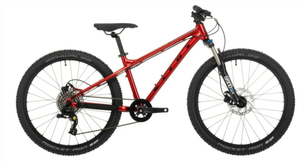 """Vitus Nucleus 24 - a great value, well specificed kids mountain bike with 24"""" wheels - perfect for 8 year olds"""
