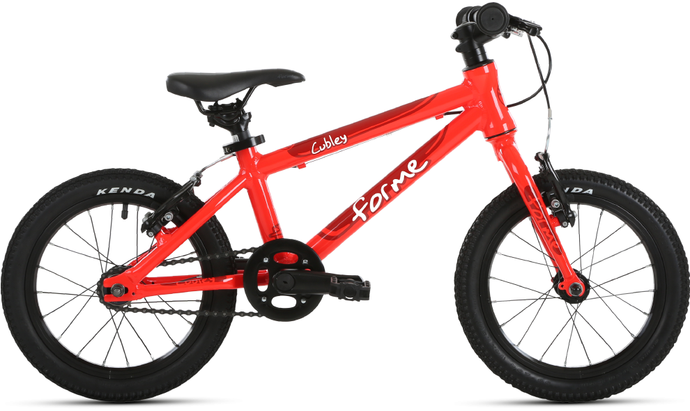 Forme Cubley 14 kids bike - a lightweight first pedal bike for children aged 3 and 4 years
