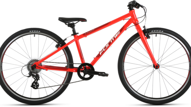 Forme Kinder MX26 - a good allrounder of a kids bike suitable for weekend riding and cycling to school. Sized for girls and boys aged 10 years to 12 years depending on how tall the child is