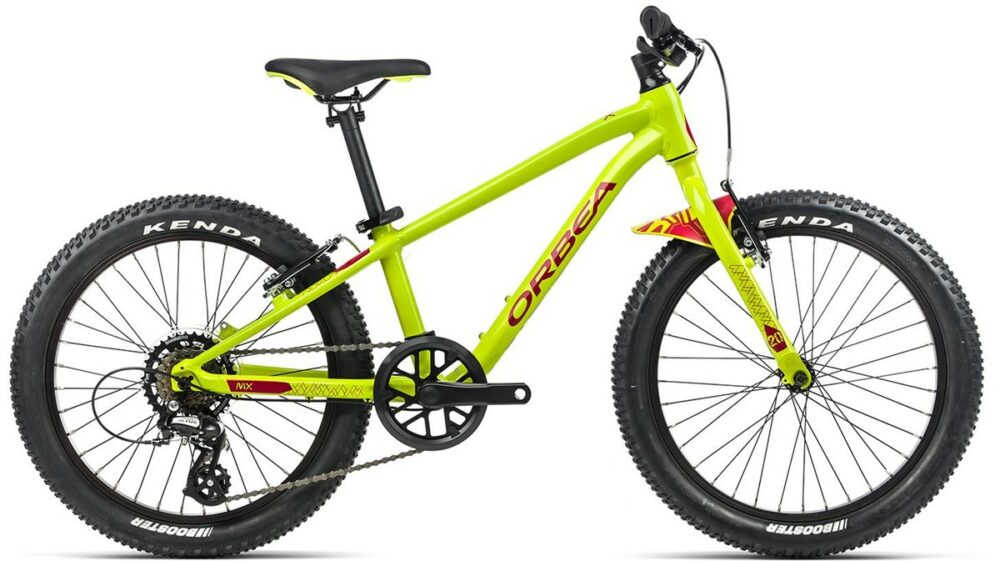 "Orbea MX 20 Dirt - a great 20"" wheel geared bike for riding at trail centres and off road riding with your kid"