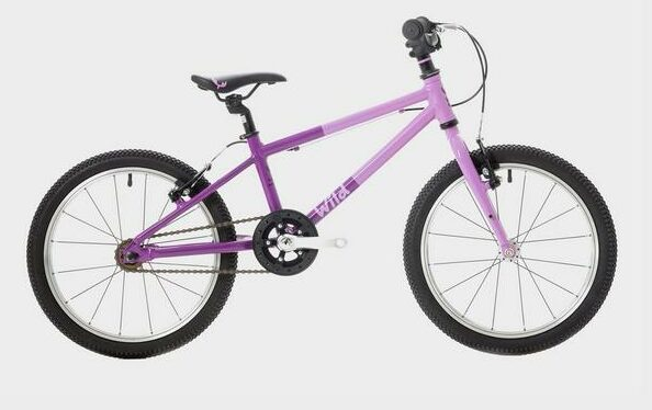 Wild 18 is a great bike for a 5 year old boy or girl who isnt quite ready to move onto a geared bike but has outgrown their single speed smaller bike