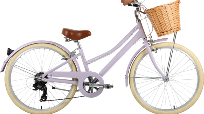 Forme Hartington 24 kids Dutch style city bike for girls and boys aged 7 to 11 years