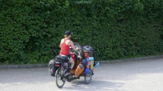 3 wheel cargo bikes are a good choice if you're carrying loads of luggage