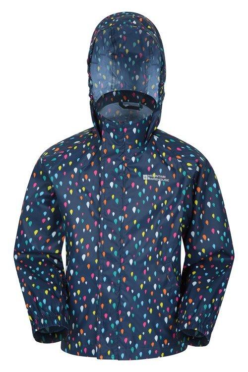 Pakka Kids Waterproof Jacket packable down for summer bike rides on rainy days