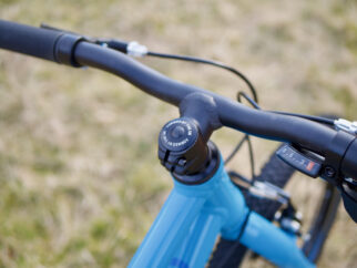 Forme Kids Bike Review - the  Kinder 20 handlebars
