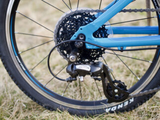 Forme Kinder wheel and chain - Forme kids bike review