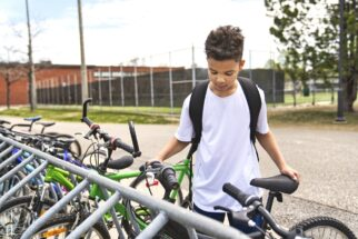 New funding for Bikeability training - learning to ride a bike to school