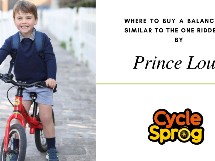 Prince Louis balance bike