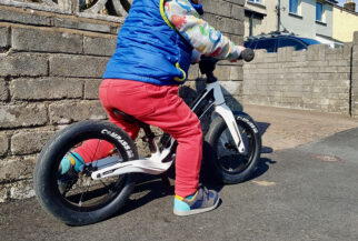 Hornit AIRO in use - balance bike review