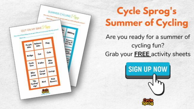 Cycle Sprog Summer of Cycling 2021