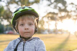 Kids helmet too loose