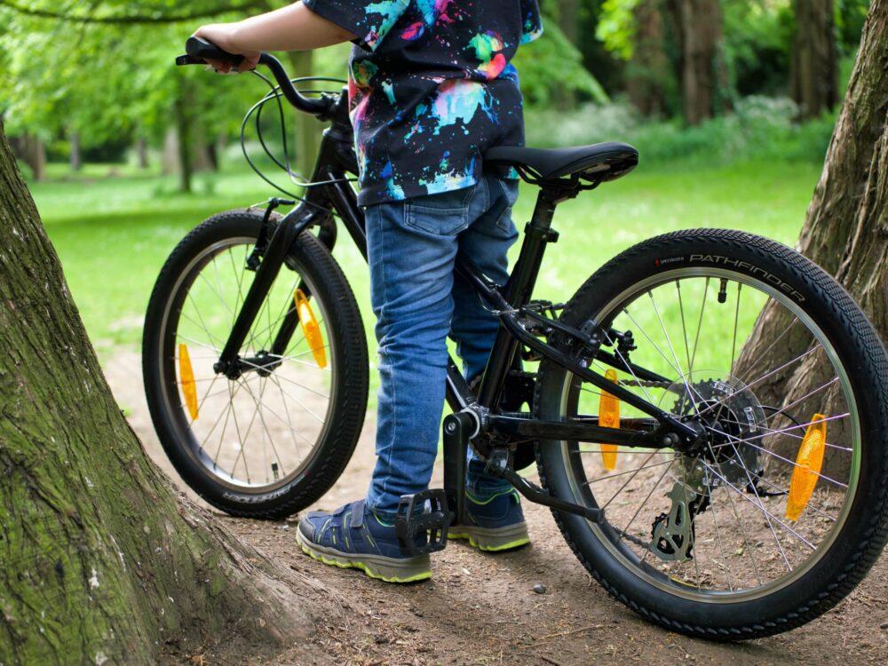 Specialized Jett 20 bike up close