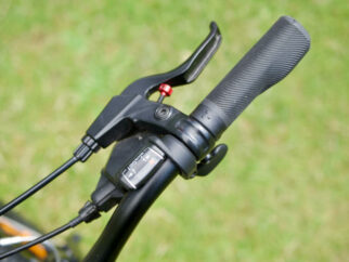 Our only concern with the Specialized Jett 20 was with the adjustable brake levers