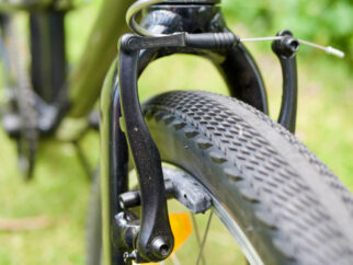 """The tyres on the Specialized Jett 20 are wider than usually found on a 20"""" wheel kids bike"""