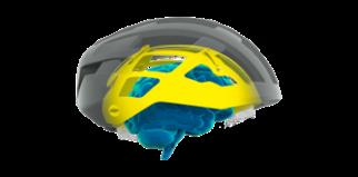 MIPS kids cycle helmet illustration