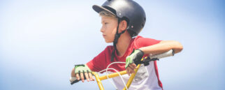 bike helmet twisted strap