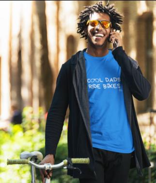 Cool Dads Ride Bikes t-shirt