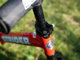 Strider bike handlebar adjustment