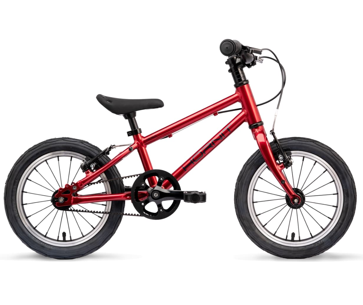 Hornit Hero 14 - a belt driven starter bike for a 3 year old