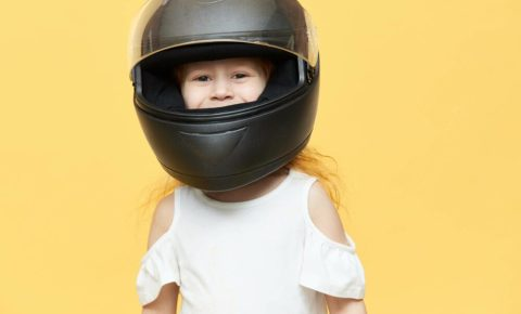 Does my child need a full faced cycle helmet