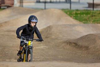 Should I buy a full faced bicycle helmet for my child?