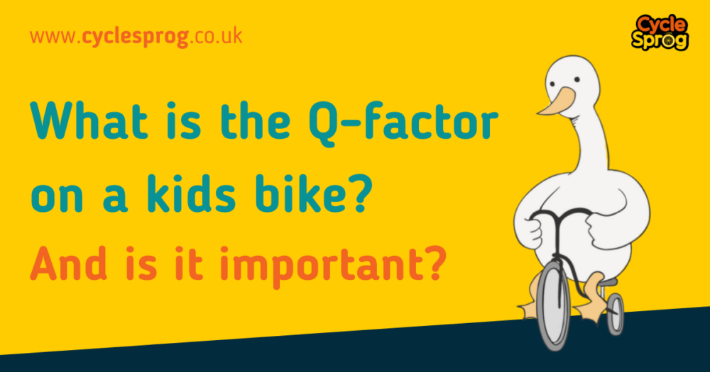 What is the Q-factor on a kids bike and is it important?