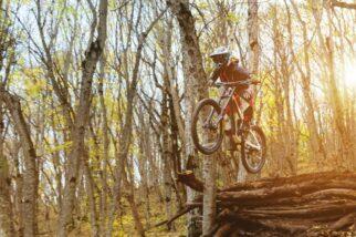 Should my child wear a full face helmet when mountain biking?