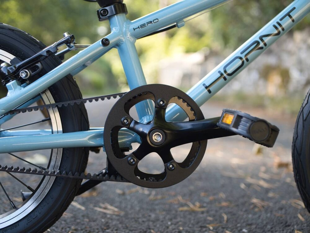 Hornit HERO 14 Crankset and pedals