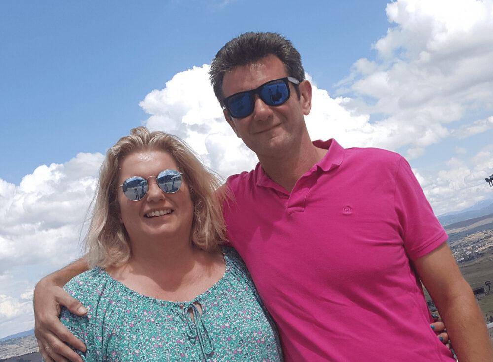 Karen and Gary Wood - founders of VeloKids